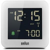 Braun BC09-DCF Digitaler Wecker weiß