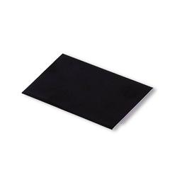 PRYM Klebeflicken reflektierend, 10 x 18cm, schwarz, 70% Polyester/30% Baumwolle, Zubehör, Flicken & Patches
