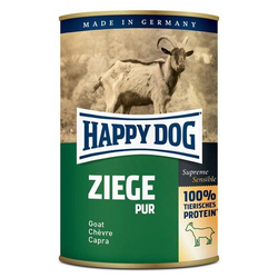 (7,19 EUR/kg) Happy Dog Ziege pur 400 g - 12 Stück
