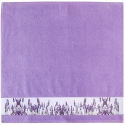 framsohn Geschirrtuch Zwirn ''Lavendelfeld'' 50 x 50 cm Lavendel - Lila
