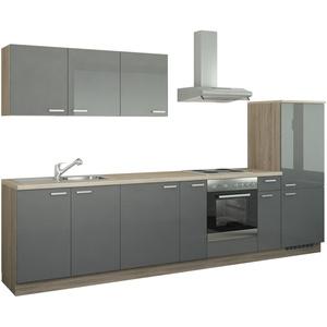 Küchenzeile mit Elektrogeräten ¦ Maße (cm): B: 330 » Möbel Kraft