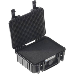 B & W Outdoor Koffer outdoor.cases Typ 500 2.3l (B x H x T) 230 x 180 x 90mm Schwarz 500/B/SI