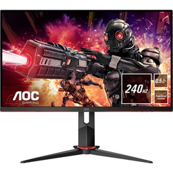 AOC 24G2ZU/BK LCD-Monitor 60.5cm (23.8 Zoll) EEK B (A+++ - D) 1920 x 1080 Pixel Full HD 0.5 ms Kopfh