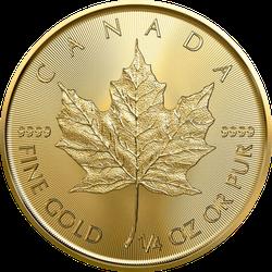1/4 Unze Gold Maple Leaf 2021