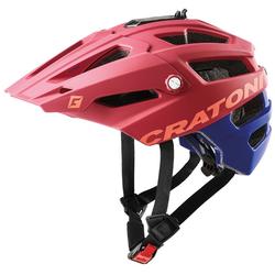 Cratoni Mountainbikehelm MTB-Fahrradhelm AllTrack rot Fahrradzubehör Fahrräder Zubehör Helm