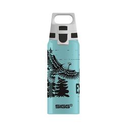 Sigg Trinkflasche Alu-Trinkflasche WMB ONE Brave Bear, 600 ml blau
