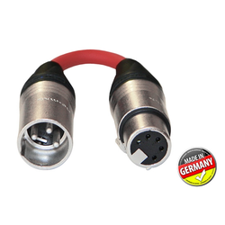 DMX Adapter 3-pol XLR male / 5-pol XLR female