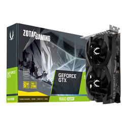 Zotac GTX 1660Super Twin Fan Grafikkarte (6 GB, GDDR6, VR-Ready)