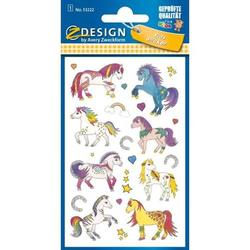 Sticker Pferde bunt VE=22 Stück