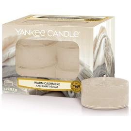 Yankee Candle Warm Cashmere Duft-Teelichter 12 Stück