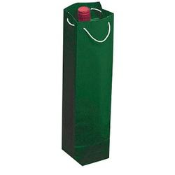 25 Flaschenbeutel   grün