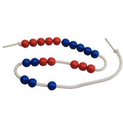 Rechenkette bis 20 rot/blau