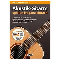 Akustik-Gitarre spielen ist ganz einfach - Buch