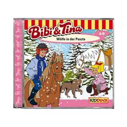 Kiddinx Hörspiel CD Bibi & Tina 60: Wölfe in der Puszta