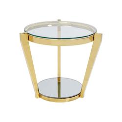 KARE Beistelltisch Beistelltisch Monocolo Gold 50