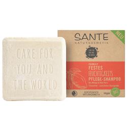 SANTE Festes Feuchtigkeits Pflege-Shampoo Mango & Aloe Vera 60 g