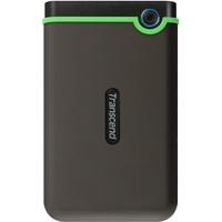 Transcend StoreJet 25M3 500GB USB 3.0 grau/grün (TS500GSJ25M3S)