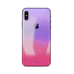 Puro Hologramm Cover für iPhone X, pink