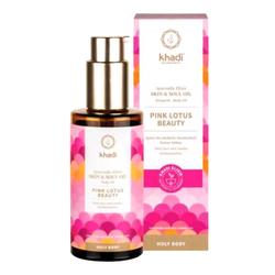 Khadi Naturkosmetik Holy Body Skin & Soul Oil Körperöl - Pink Lotus Beauty 100ml