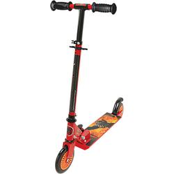 Dragons Scooter mit Bremse, klappbar schwarz/rot