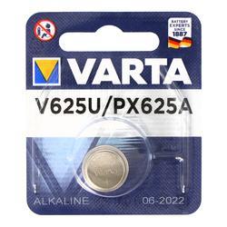 Varta V625U Alkaline Batterie, PX625, LR9, Knopfzelle EPX625, RM625