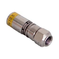 F-Kompressionsstecker 10,5mm Quick-Mount F 11-QM