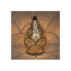 Casa Moro Nachttischlampe Orientalische Lampe Alia Samak D20