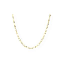 JuwelmaLux Collier Collierkette Gold 50 cm