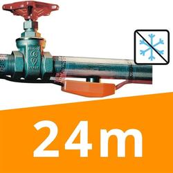 Rohrheizung »Easy Heat« für Rohr, Leitung, Rinne · 24m
