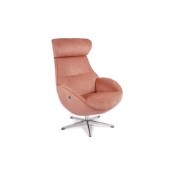Conform Relaxsessel Globe Stoff Evita in pink