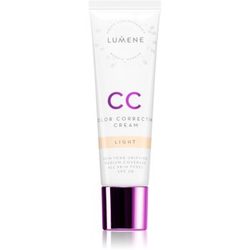 Lumene Color Correcting CC Cream für ein einheitliches Hautbild Farbton Light 30 ml