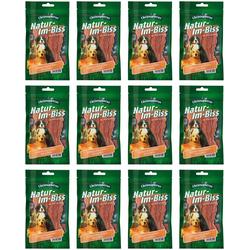 CHRISTOPHERUS Hundesnack Hähnchenbrustfiletstreifen, 12 x 70 g braun