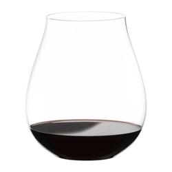 RIEDEL Glas Gläser-Set Big O Pinot Noir 2er Set, Kristallglas weiß