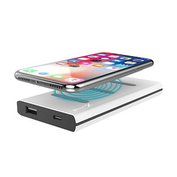 XLAYER Wireless Charger with Dock Powerbank 6.000 mAh