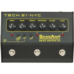 Tech 21 Bass Driver DI Programmable SansAmp