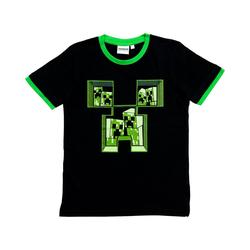 Minecraft T-Shirt T-Shirt Minecraft dark blue 152cm schwarz 116