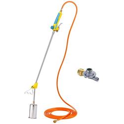 Gloria Unkrautbrenner Thermoflamm bio Professional PLUS, 1000 °C maximal, (Set), inkl. Schlauch und Druckminderer