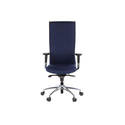 hjh OFFICE Drehstuhl hjh OFFICE High End Bürostuhl OFFICE-TEC blau