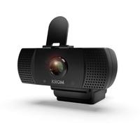 Krom Kam Webcam 1920 x 1080 Pixel USB 2.0 Schwarz