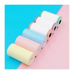 Gotui Druckerpapier, 12 Rollen 57x30mm Thermopapierdrucker RollenpapiereFür den PeriPage A6-Taschendrucker