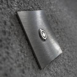 Quadratische LED-Türklingel Klingeltaster m. Symbol
