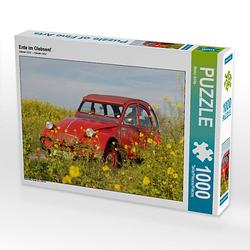 Ente im Glebsenf Lege-Größe 64 x 48 cm Foto-Puzzle Bild von Meike Bölts Puzzle