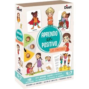 Diset - Die Emotionen Spiel Lernen in Positiv, Mehrfarbig, 41201