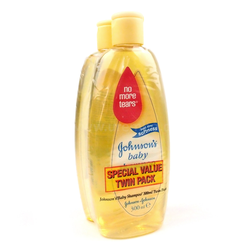Johnson's Baby Shampoo Twin Pack 2 x 300ml Haarwaschmittel