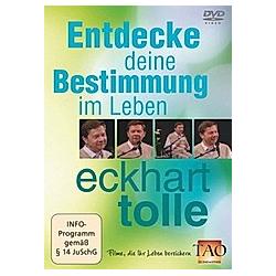 Eckhart Tolle: Entdecke deine Bestimmung im Leben - DVD  Filme