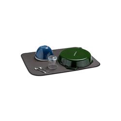 Navaris Geschirrständer, Navaris Abtropfmatte Geschirrabtropfmatte aus Mikrofaser - XL Trockenmatte für Geschirr - 60x46cm Matte Geschirrmatte Spülunterlage - waschbar