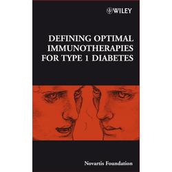 Defining Optimal Immunotherapies for Type 1 Diabetes: eBook von