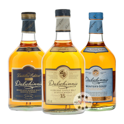 Dalwhinnie Whisky 3er Set: Winters Gold, 15 YO, Distillers Edition