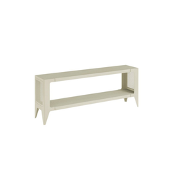 WYE Lowboard Lowboard, chamfer, nachhaltiges Möbeldesign beige