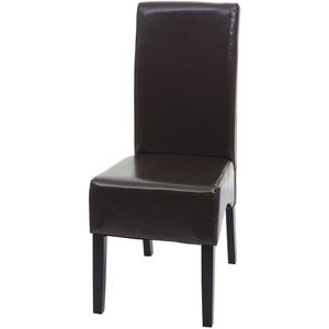 Esszimmerstuhl Latina, Küchenstuhl Stuhl, Leder
